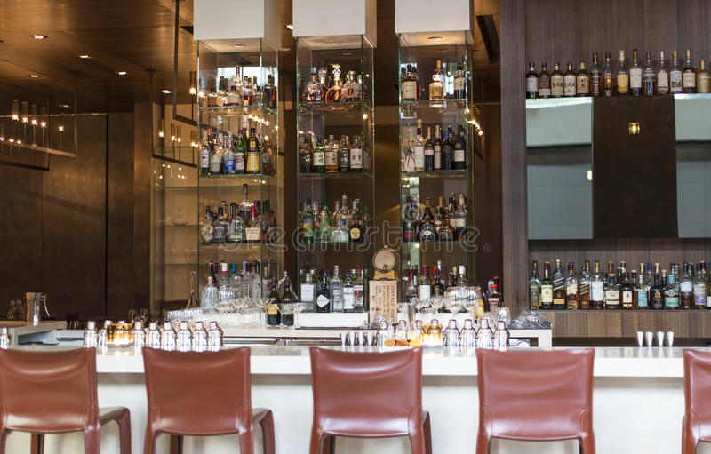 Cocktail-Bar stockbilder