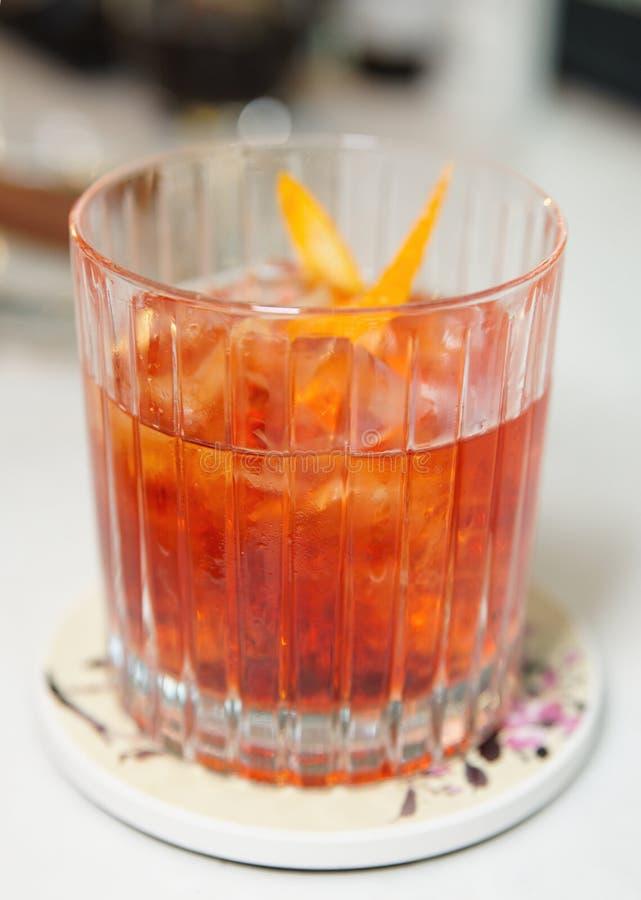 Cocktail On Bar Counter Stock Photos