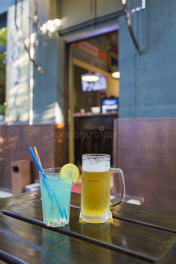 Bar scene royalty free stock image