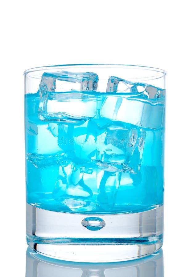 Cocktail blu di paradiso immagine stock libera da diritti