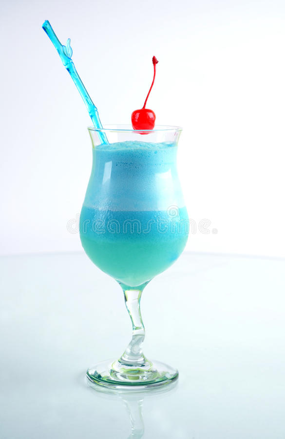 Cocktail Blue Star. royalty free stock photography