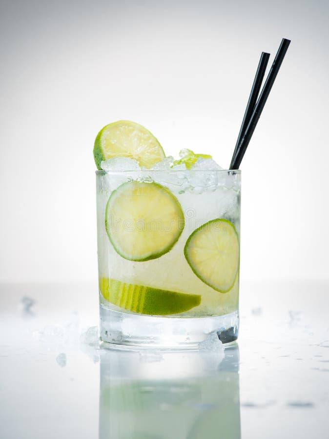 cocktail Braziliaanse Caipirinha stock fotografie