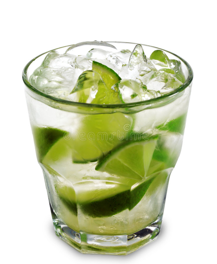 Cocktail - Caipirinha royalty-vrije stock foto
