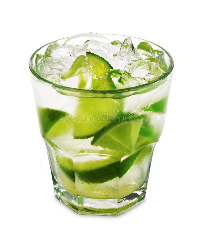 Caipirinha cocktail  Cocktail - Caipirinha Lizenzfreie Stockfotografie - Bild: 7612007