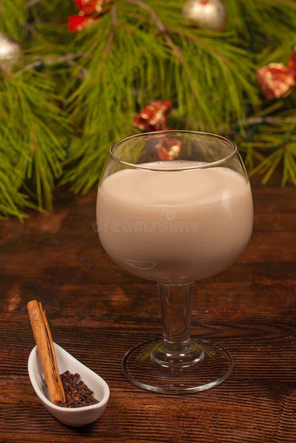 Cocktail chileno do Natal foto de stock