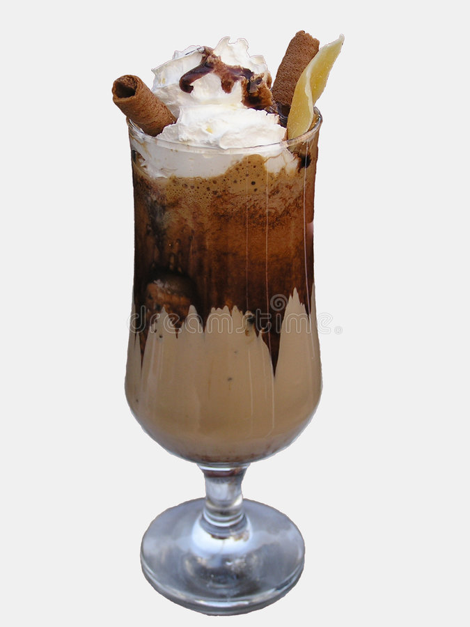 Download Cocktail with coffee stock photo. Image of tavern, food - 112666