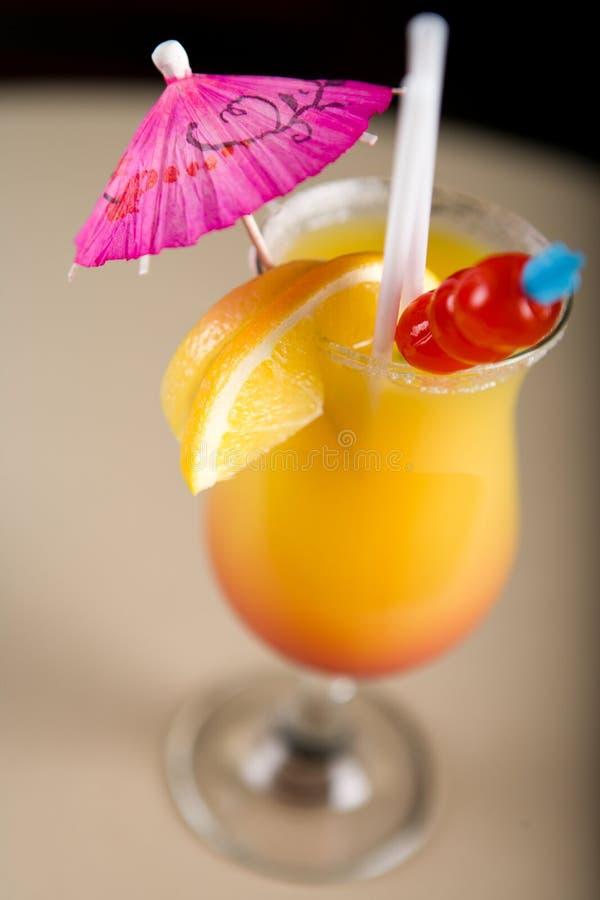 Cocktail colorido fotografia de stock
