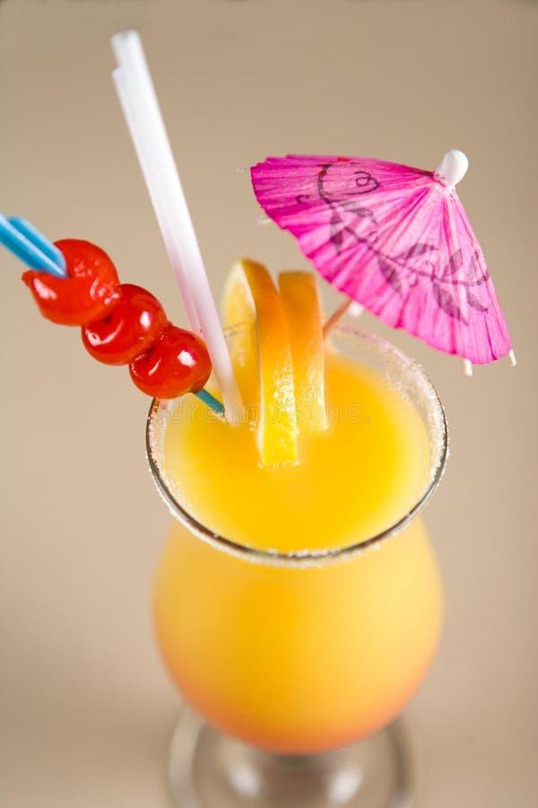 Cocktail colorido imagem de stock