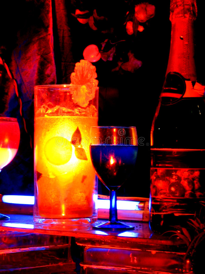cocktail colors στοκ εικόνες