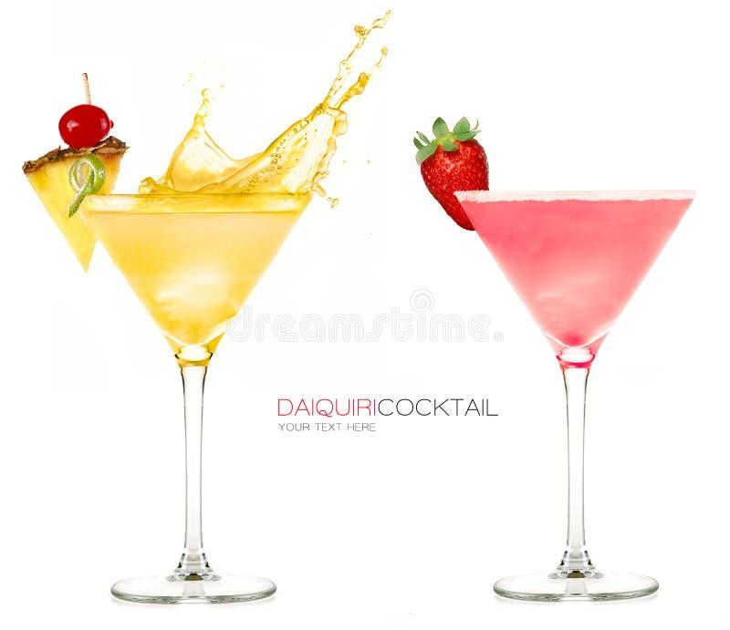 Cocktail congelados daiquiri Respingo foto de stock royalty free