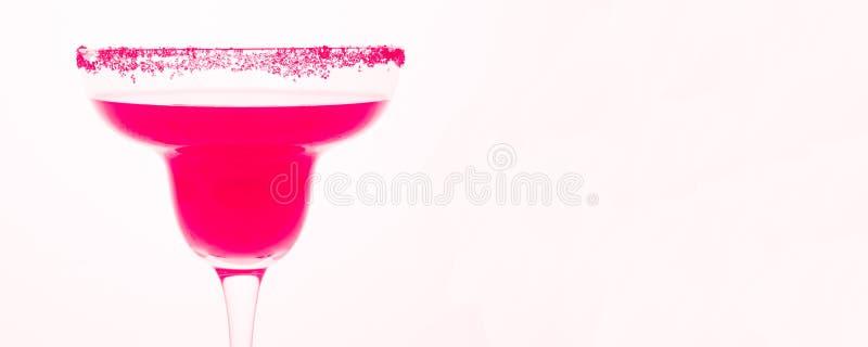 Cocktail cor-de-rosa doce foto de stock royalty free