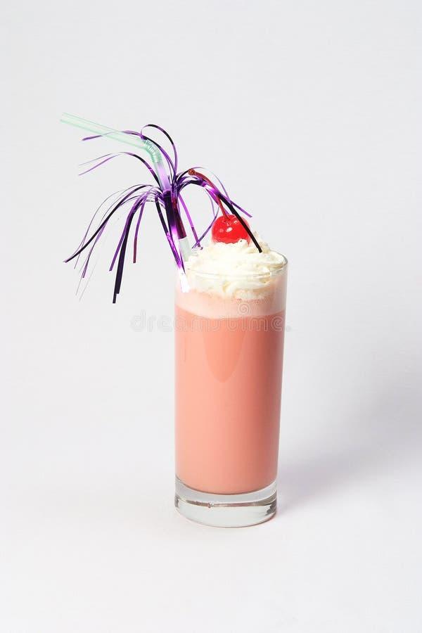 Cocktail cor-de-rosa grande fotos de stock