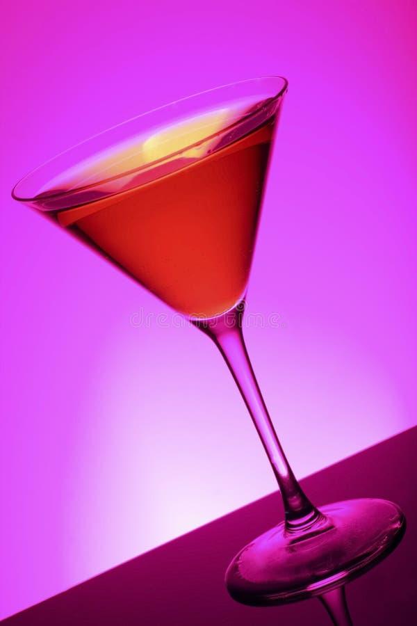 Cocktail cosmopolita foto de stock