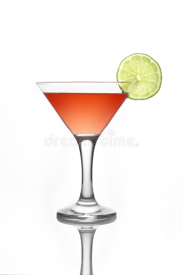 Cocktail cosmopolite photographie stock