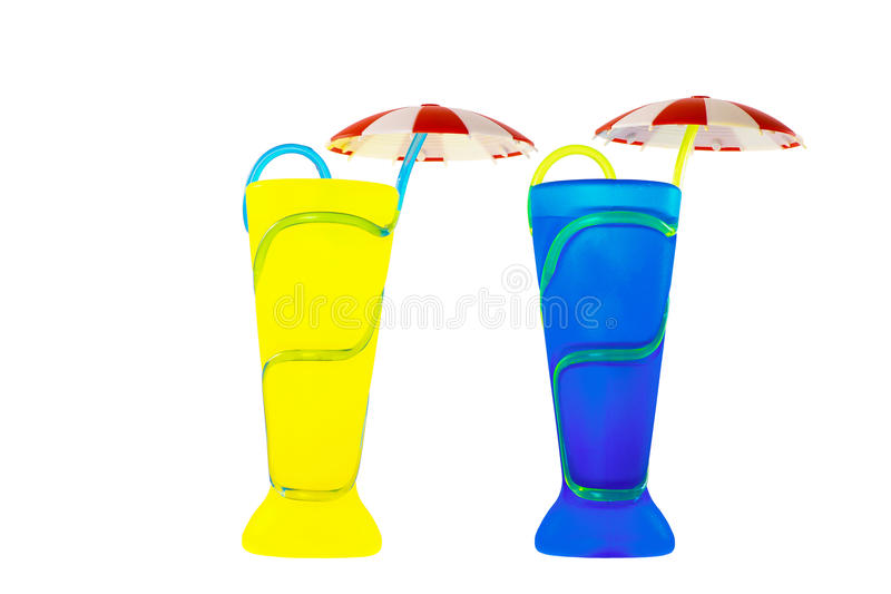Cocktail cup royalty free stock image