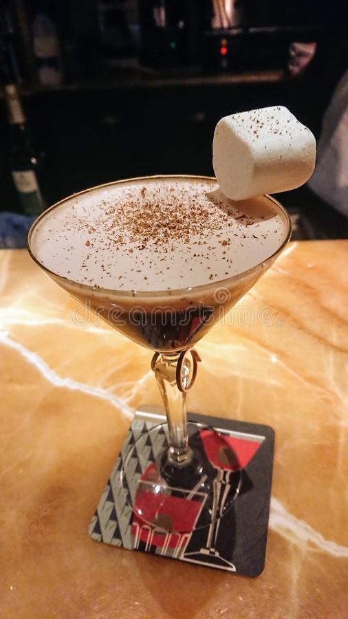 Cocktail délicieux image libre de droits