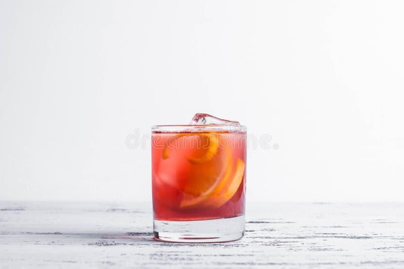 Cocktail démodé image libre de droits