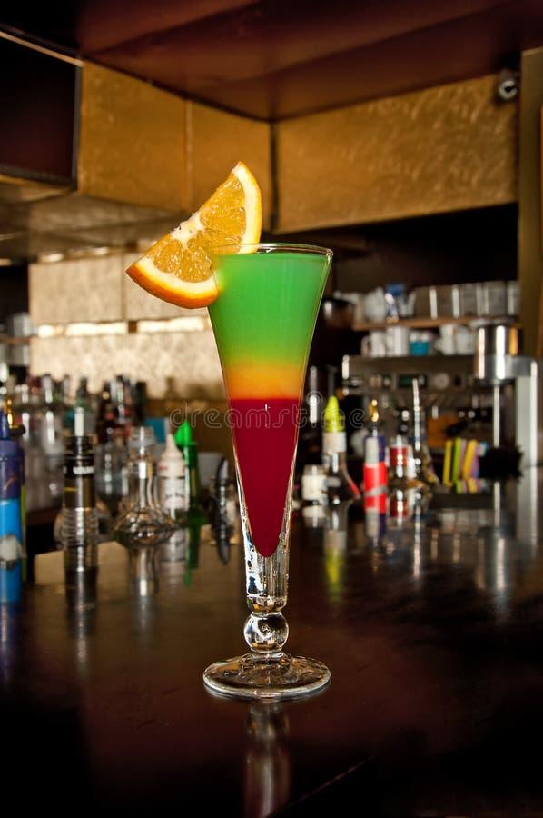 Cocktail d'été de sirop photos libres de droits
