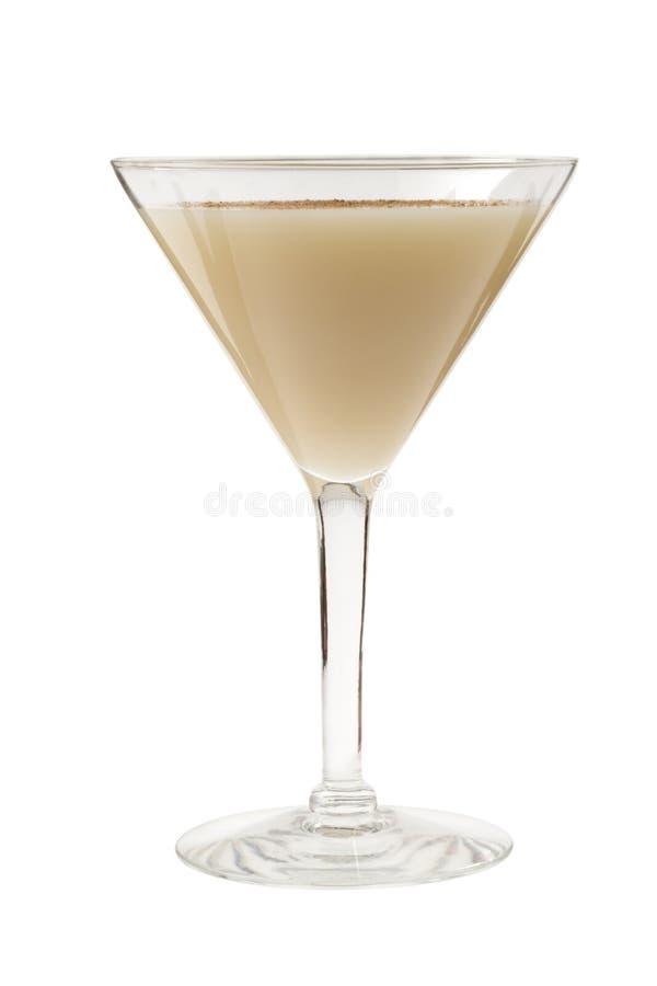 Cocktail d'Alexandre d'eau-de-vie fine photo libre de droits