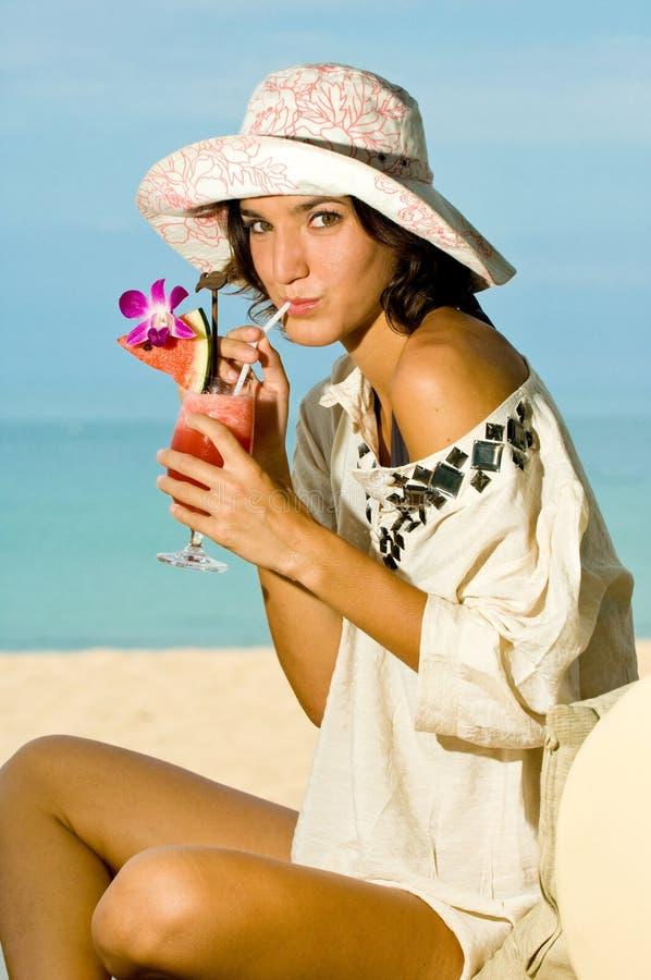 Cocktail da Beach immagini stock