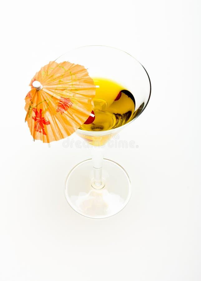 Cocktail da cereja foto de stock
