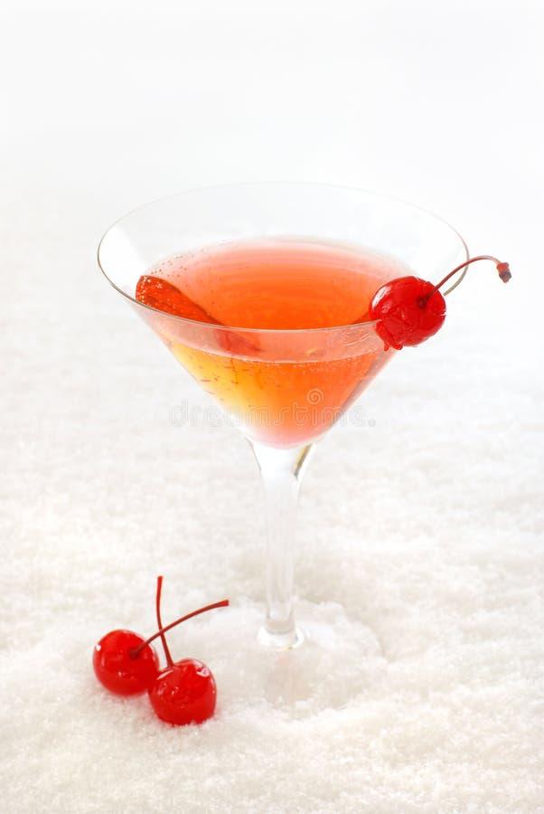 Cocktail da cereja imagem de stock