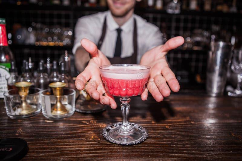 Cocktail da morango foto de stock