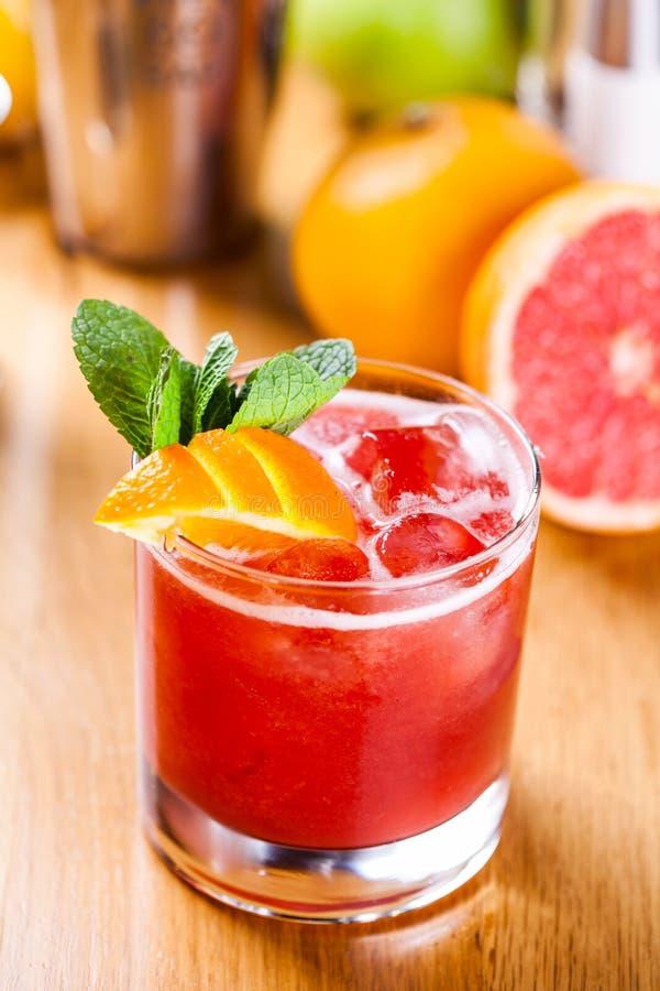 Cocktail da toranja fotografia de stock royalty free