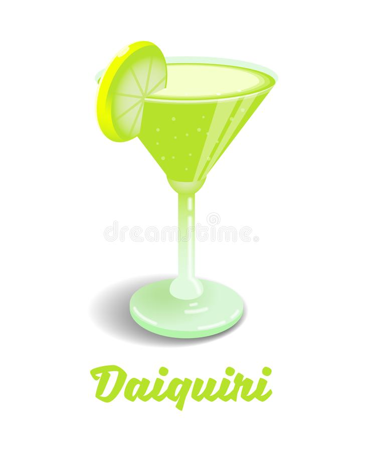 Cocktail Daiquiri lizenzfreie abbildung