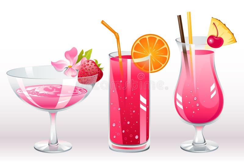 Cocktail das bagas ilustração do vetor