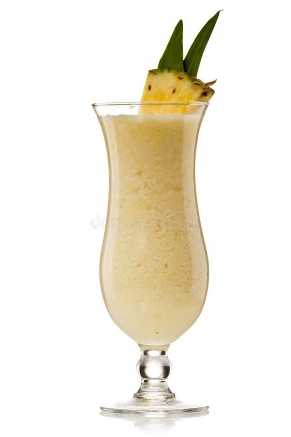 Cocktail de boissons de colada de Pina photo libre de droits