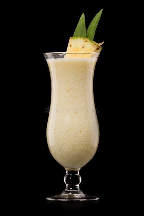 Cocktail de boissons de colada de Pina image libre de droits