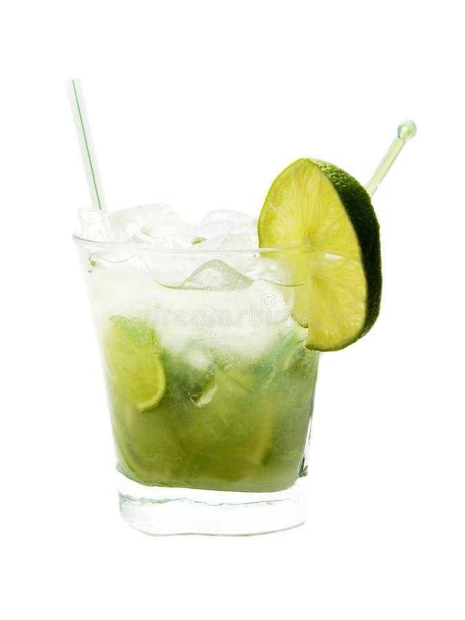 Cocktail de Caipirinha images stock