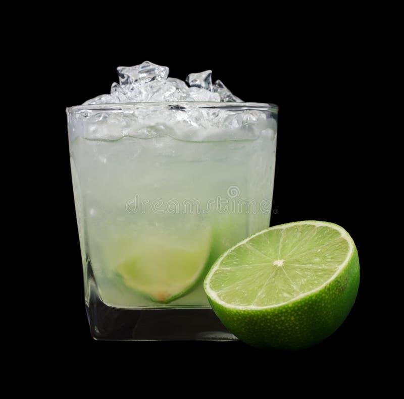 Cocktail de Caipirinha fotografia de stock