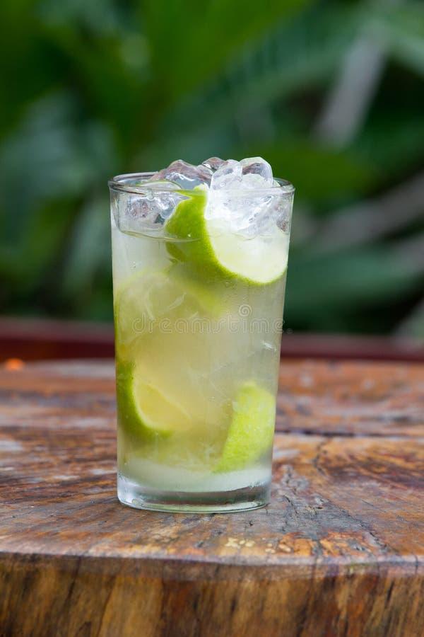 Cocktail de Caipirinha photo libre de droits