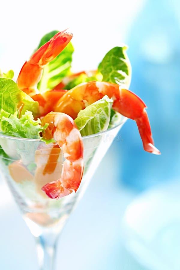 Cocktail de camarão fotos de stock
