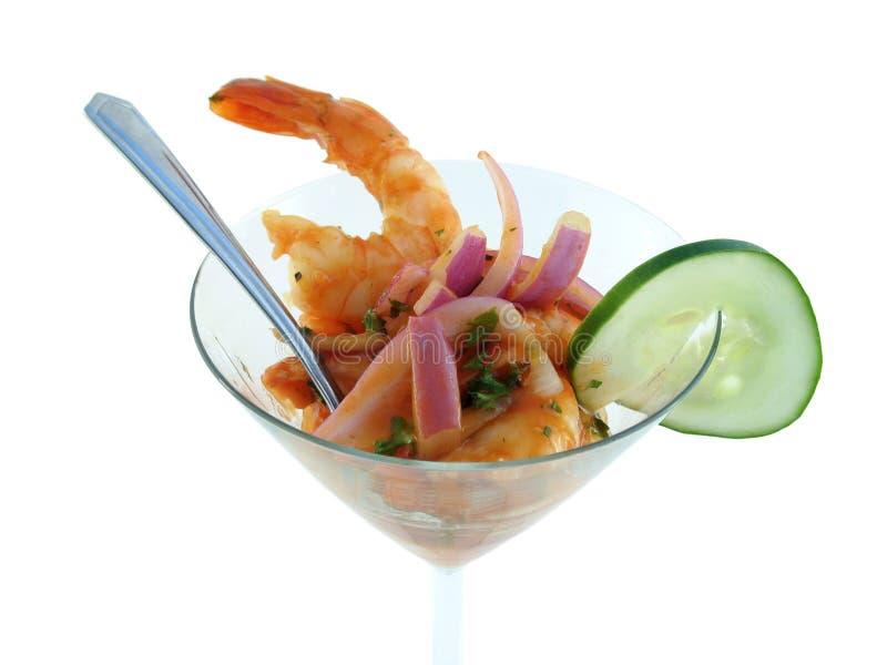 Cocktail de camarão imagem de stock royalty free