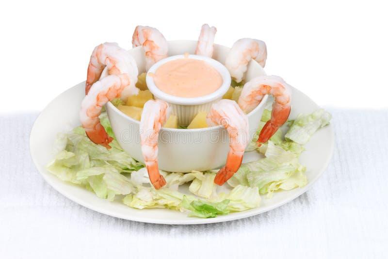 Cocktail de camarão foto de stock