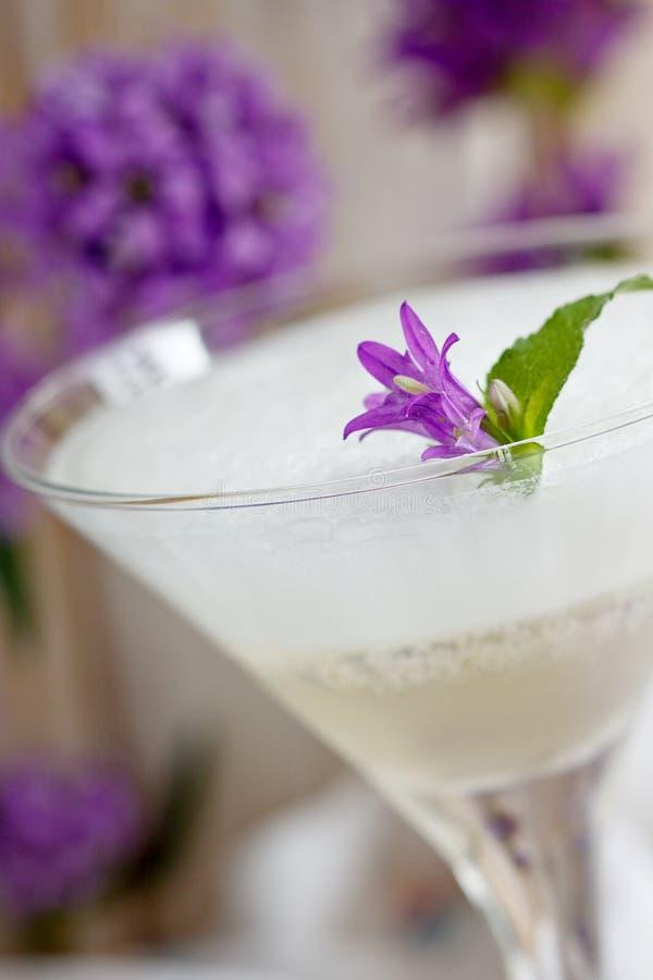 Cocktail de Champagne fotos de stock royalty free
