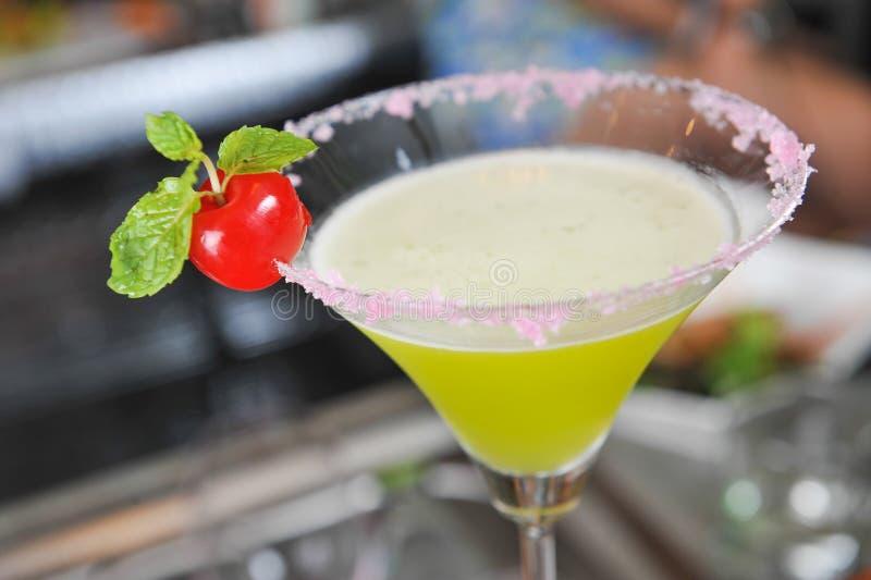 Cocktail de chaux photographie stock