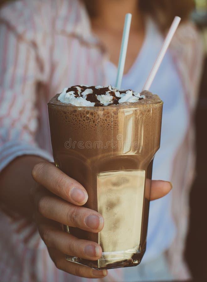 Cocktail de chocolat photos stock
