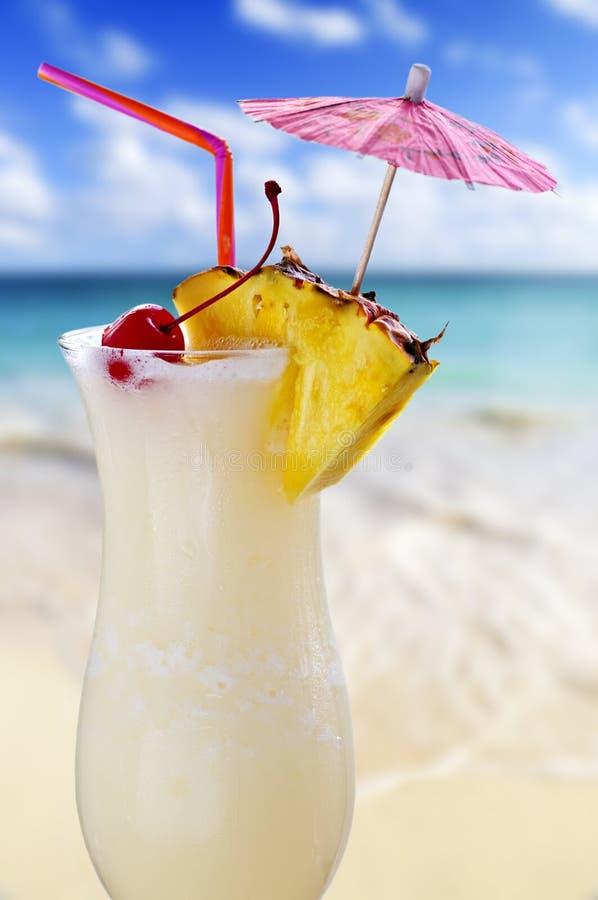 Cocktail de colada de Pina images stock