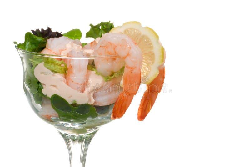 Cocktail de crevette images libres de droits