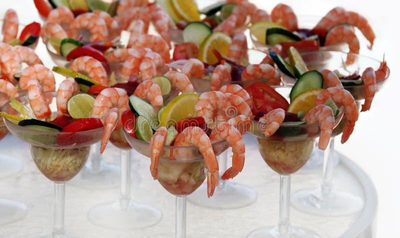 Cocktail de crevette photo stock