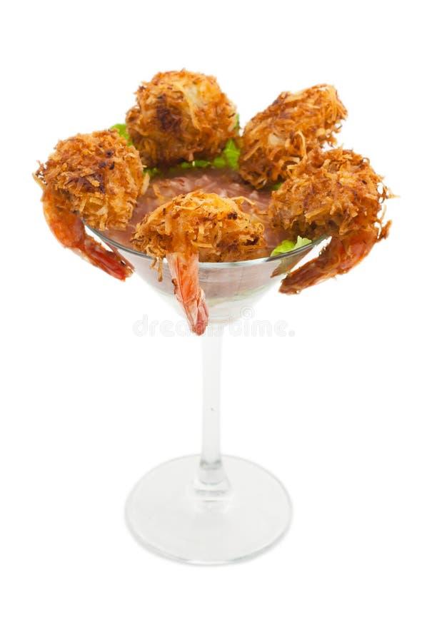 Cocktail de crevettes américain photos libres de droits