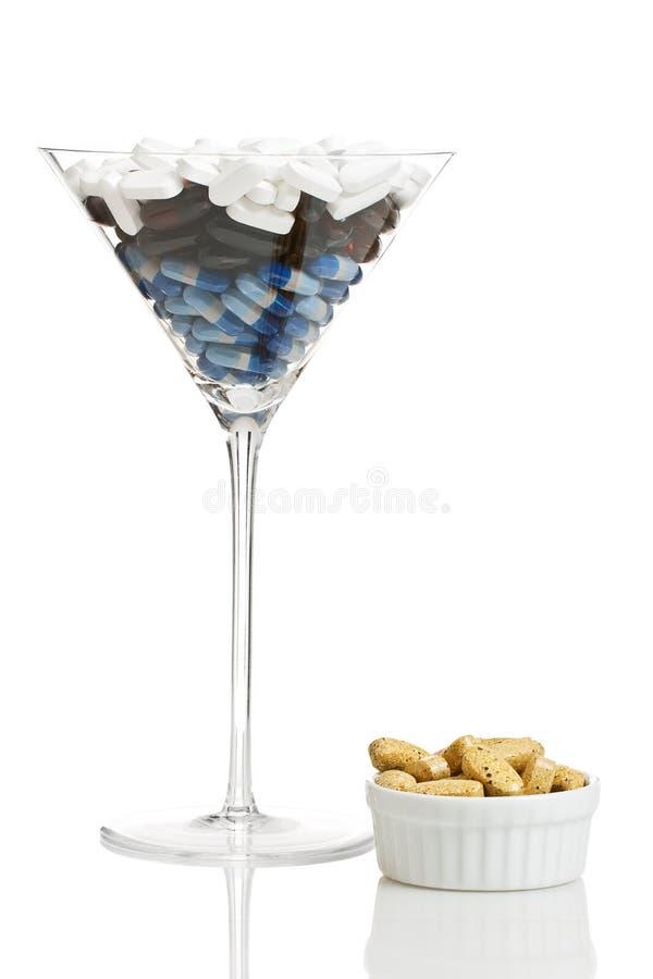 Cocktail de drogue photographie stock libre de droits