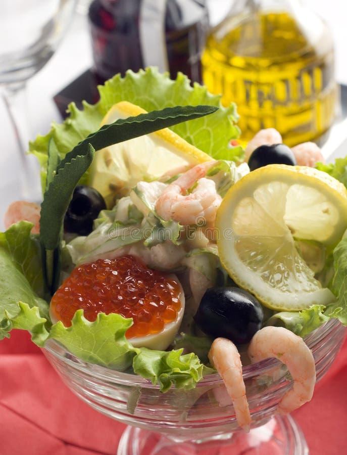 Cocktail de fruits de mer photos libres de droits