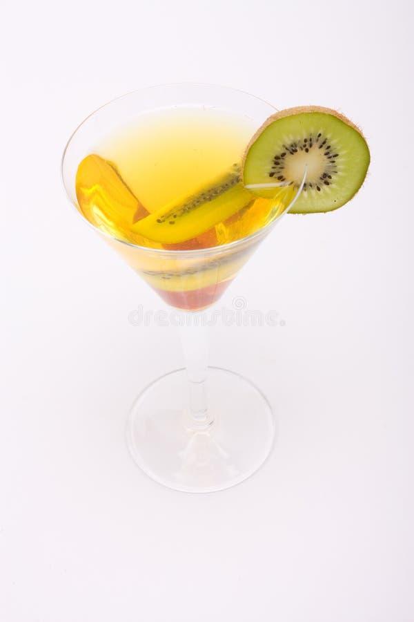 Cocktail de fruta fotografia de stock royalty free