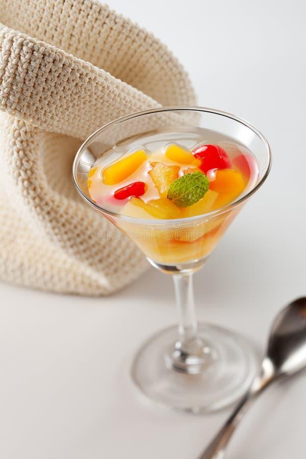 Cocktail de fruta fotografia de stock