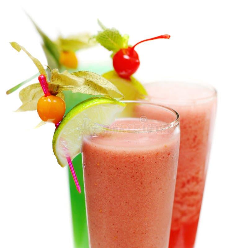Cocktail de fruta fresca foto de stock